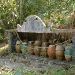 Ceremonial burial pots in abandoned hill villages in Hong Kong.
