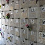 Columbaria in Hong Kong cemeteries hold the ashes of hundreds of people.