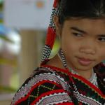 Philippines, Mindanao, Young Tboli Girl