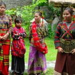 Philippines, Mindanao, Group of Tboli Girls