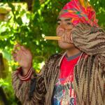Philippines, Mindanao, Tboli Musician