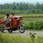 Philippines, Mindanao, Tricycle
