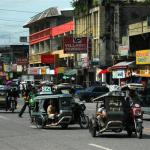 Philippines, Mindanao, Tricycles in City Proper