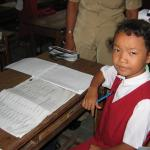 School is serious business in Bali.