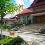 Philippines, Mindanao, South Cotabato, Polomolok, Mt. Matutum, Trappistine Monastery of Our Lady of  Matutum, Main entrance