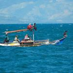 Mindanao, Sarangani Bay, Fishing family