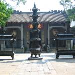 The Temple of Lin Zexu who led the fight against British sales of opium