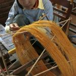 Silk Loom at Artisans d'Angkor