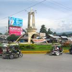 Philippines, Mindanao, Koronadal city, Rotonda or round ball