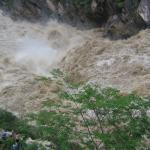 The mighty waters of Leaping Tiger Gorge