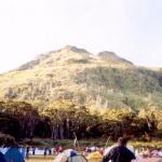 Mt. Apo as seen from Lake Venado