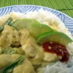 Spicy Chicken in Coconut Peanut Sauce