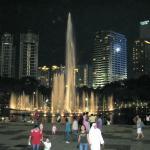 KLCC Park at night