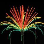Decorative lights at Dataran Bandaraya, Johor Bahru, Johor, Malaysia