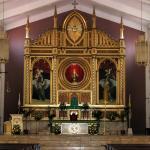 Altar of the Sto. Niño Church, Tacloban City, Leyte, Philippines