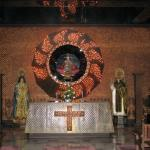 Inside the chapel of Sto. Niño Shrine and Heritage Museum, Tacloban City, Leyte, Philippines
