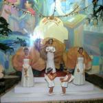 One of Imelda's dioramas inside the Sto. Niño Shrine and Heritage Museum