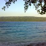 Samal Island as seen from Talikud Island, Davao, Mindanao, Philippines