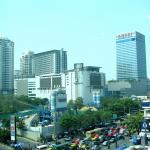 Skyscrapers along Ratchadamri Road in Bangkok