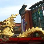 Where there's dragons, there's Chinatowns...