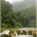 Laya waterfalls (Guizhou province)