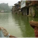 View on Chong An Jiang from the ferry  (Prefecture Qian Dong Nan, Guizhou province)