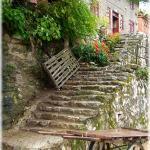 Stone stair in Chong An Jiang (Prefecture Qian Dong Nan, Guizhou province)