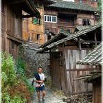 Villager (Langde Miao village, prefecture Qian Dong Nan, Guizhou province)