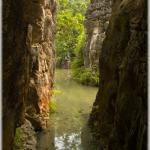 Lake between rocks (Tian-Xin, Guizhou province)