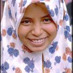 Girl in Dutch Square, Melaka, Malaysia.