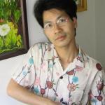 Pagong's white sakura shirt
