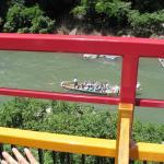 Sagano Sight-seeing boat on Hozu River