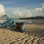 Abandoned Boat at Serendipity Beach, Sihanoukville