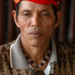 Man from the T'boli tribe in Southern Mindanao.