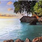 The serene sorroundings of Samal Island