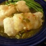 Mandarin-Style Fish with Ginger-Garlic Sauce