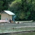 Mindanao, Fisherman resting.