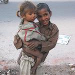 Homeless children in Delhi