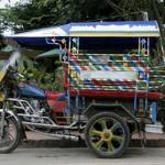 The Auto Rickshaw- LAOS, Tuk Tuk in Luang Prabang