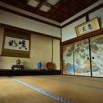 Tatami Room at Ekoin Temple, Koyasan