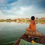 One of Tonle Sap's quieter days.