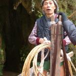 Zhou de Li is a boat tracker in the Bamboo Gorge