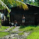 Mindanao, family in rural area