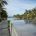 Infinity pools at the Nam Hai