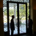 Doormen at front entrance