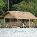 Bahay Kobuo, Philippines, Mindanao, floating nipa hut