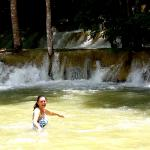 The Tad Se waterfalls were a great place to swim