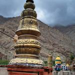 3. Gleaming golden finials on the roof of Thiksey are visible for miles in every direction.