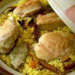 Apricot Chicken Pilaf