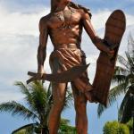 Philippines, Cebu. Lapu Lapu Statue
